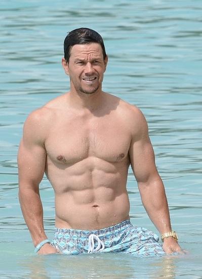 Mark Wahlberg Barechested Image