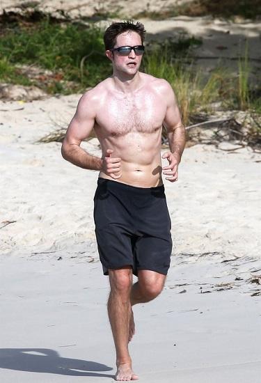 Robert Pattinson - Barechested Image