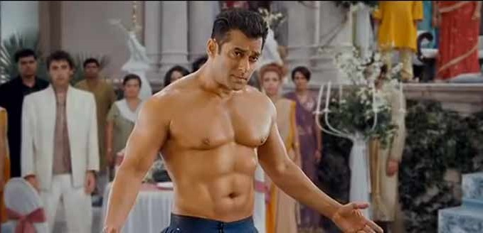 Salman Barechested HD Images