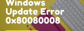 Windows Update Error 0x80080008